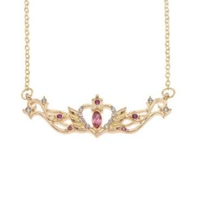 Sailor Moon Gold Colored Necklace